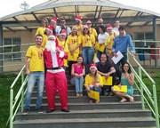 Coral de voluntários se apresenta no Hospital São Donato