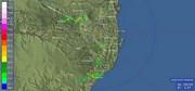 Há previsão de chuva e ventos fortes em Santa Catarina