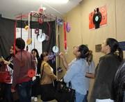 Os acadêmicos da Unesc levam arte a escola da região