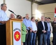 Vice-governador inaugura Serviço Aeropolicial