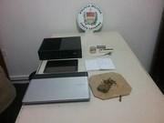 PM prende homens por furto, receptação e posse de munição