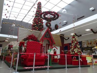 Natal do Criciúma Shopping chama atenção para a consciência ecológica