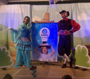 Projeto Samae na Escola apresenta peça 'A água e o homem'
