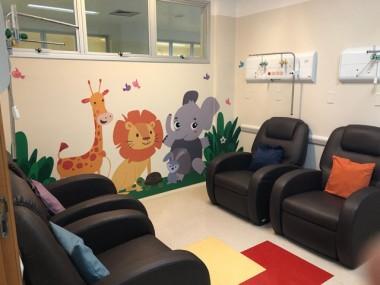 PA do HSJosé recebe nova sala para atendimento pediátrico