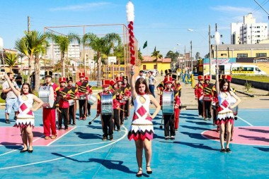 Encontro de Fanfarras marca abertura da Semana da Pátria