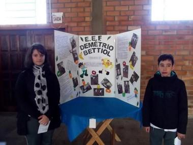 Escolas municipais participam da Mostra Científica do Projeto Verde é Vida e se classificam para a segunda etapa
