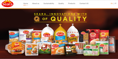Seara lança sites internacionais voltados para o mercado externo
