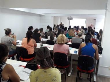 Professoras referência da Afasc passam por formação continuada