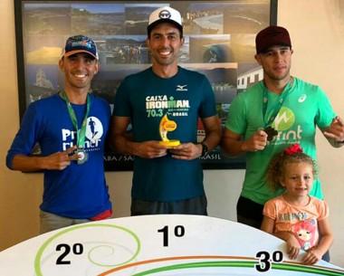 Rafael Alves conquista nova medalha durante prova de Triathlon