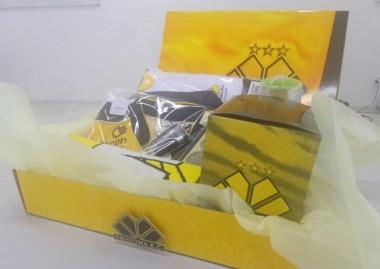 Sorteio de kit de produtos do Criciúma para associados em dia
