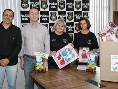 Polícia Civil se mobiliza para campanha do brinquedo