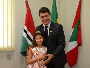 Raisa Demétrio é a mais nova Miss Criciúma Mirim