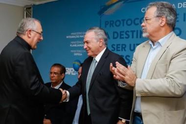 """Temer afirma em Belém que houve crescimento da economia em """"prazo curtíssimo"""""""