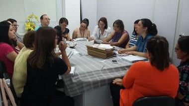 Reunião com entidades na Secretaria de Assistência Social