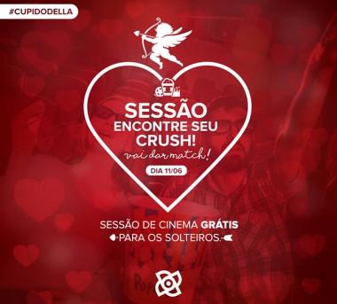 Sessão de cinema gratuita e exclusiva para solteiros acontece em Criciúma