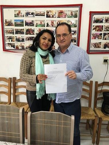 Sunamita se licencia do cargo para disputar prévias do PMDB
