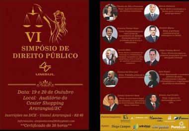 Araranguá promove Simpósio de Direito