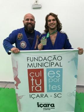 Sidney Santos Filho conquista vice-campeonato de Jiu-Jitsu