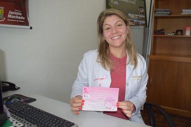 Outubro Rosa tem programação voltada à prevenção em Jacinto Machado