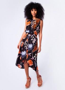 Estampas tropicais ditam a moda primavera 2018