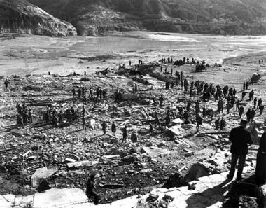 Celebração em homenagem aos 55 anos do desastre do Vajont