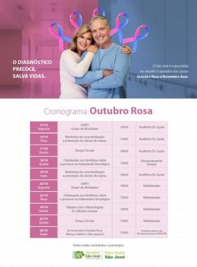HSJosé realiza ações de conscientização e prevenção ao câncer de mama
