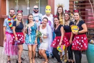 La Moda realiza ação de Carnaval para seus profissionais