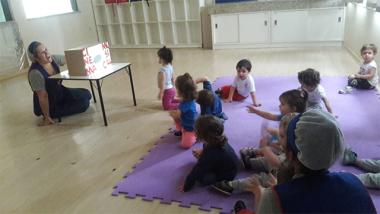 Cinema Musical encanta crianças do Grupo Dois do CEI Afasc Pequeno Polegar