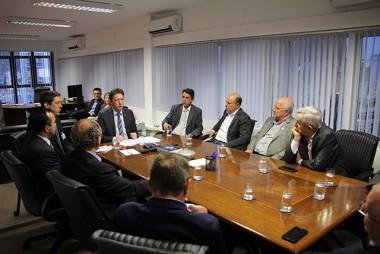 Presidente do TRE-SC se reúne com representantes de emissoras e associações de imprensa de Santa Catarina