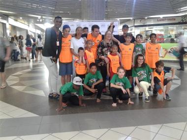 Terminal Central recebe apresentação das crianças e adolescentes do SCFV CRAS Santa Luzia
