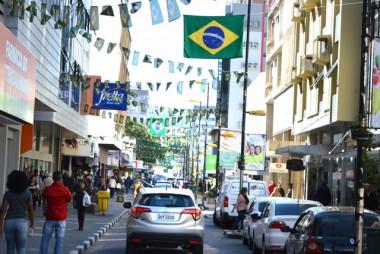 Open Shopping Pedro Benedet já está decorado para a Copa