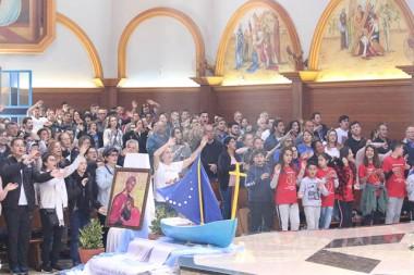 Diocese de Criciúma envia símbolos da Jornada Vocacional para a Diocese de Tubarão