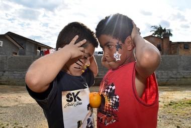 Governo Municipal e Movimento Negro realizam dia de brincadeiras para crianças de Siderópolis
