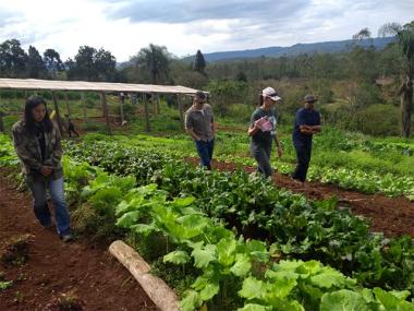 Agricultores de Siderópolis recebem treinamento para atuação no turismo e acolhida no meio rural