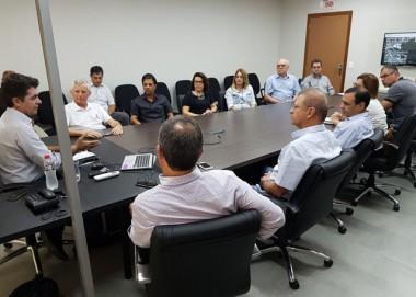 Diretoria da CDL de Criciúma se reúne com prefeito Salvaro