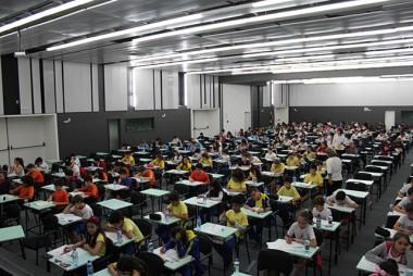 Ansiedade e expectativa envolvem alunos na segunda etapa do Prêmio Acic de Matemática