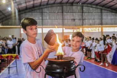 400 estudantes competem nos Jogos Estudantis de Içara