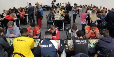 Içara domina pódio da Divisão Superior na penúltima etapa do Circuito de Xadrez