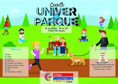Pais, alunos e professores reunidos em atividades no Parque das Nações