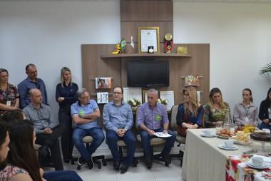 Unesc recebe visita do candidato a vice-governador João Paulo Kleinübing