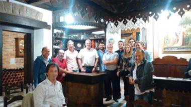 Urussanga recebe italianos para encaminhamentos sobre escola de enologia