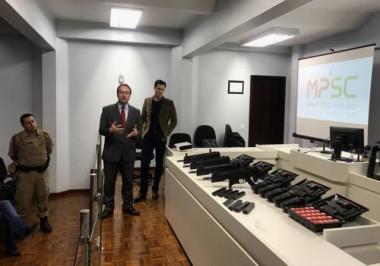 PM recebe armas do Poder Judiciário e Ministério Público