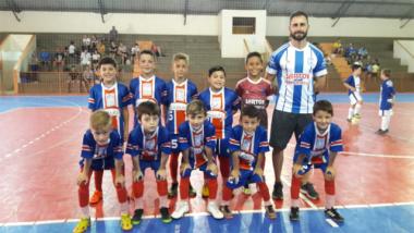 Goleada eleva campanha da FMCE no futsal da LUD