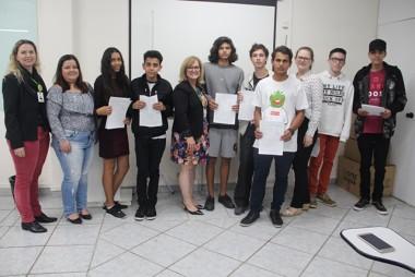 Programa Jovem Aprendiz Unibave é lançado em Braço do Norte
