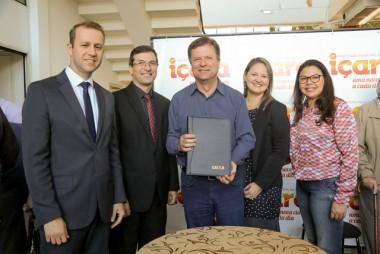 Novo Paço e revitalização do Centro são firmados em Içara
