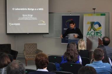 Gestão do Laboratório Búrigo é destacada em evento no Vale do Itajaí