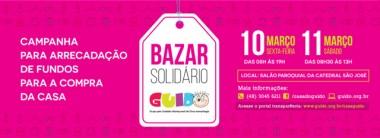 Casa Guido realiza Bazar Solidário