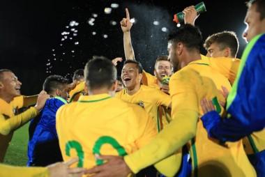 Lateral Marlon conquista título com Seleção Sub-20