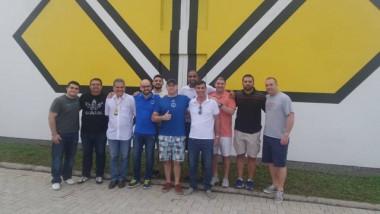 Visita de time americano no CT do Tigre