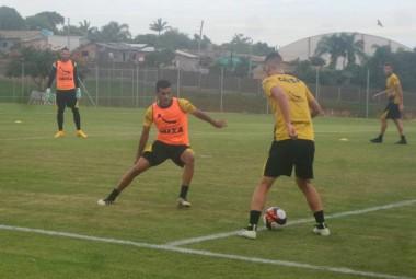 Tigre se prepara no Centro de Treinamento após vitória